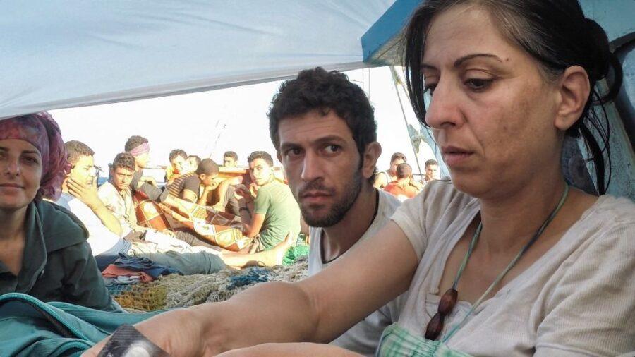 Pressefoto CAMP: George Kurian 'The Crossing' (still fra værket)