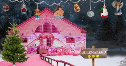 Byliv taler om julen: Christianias Julemarked