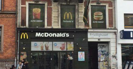 McDonalds ved Nørreport