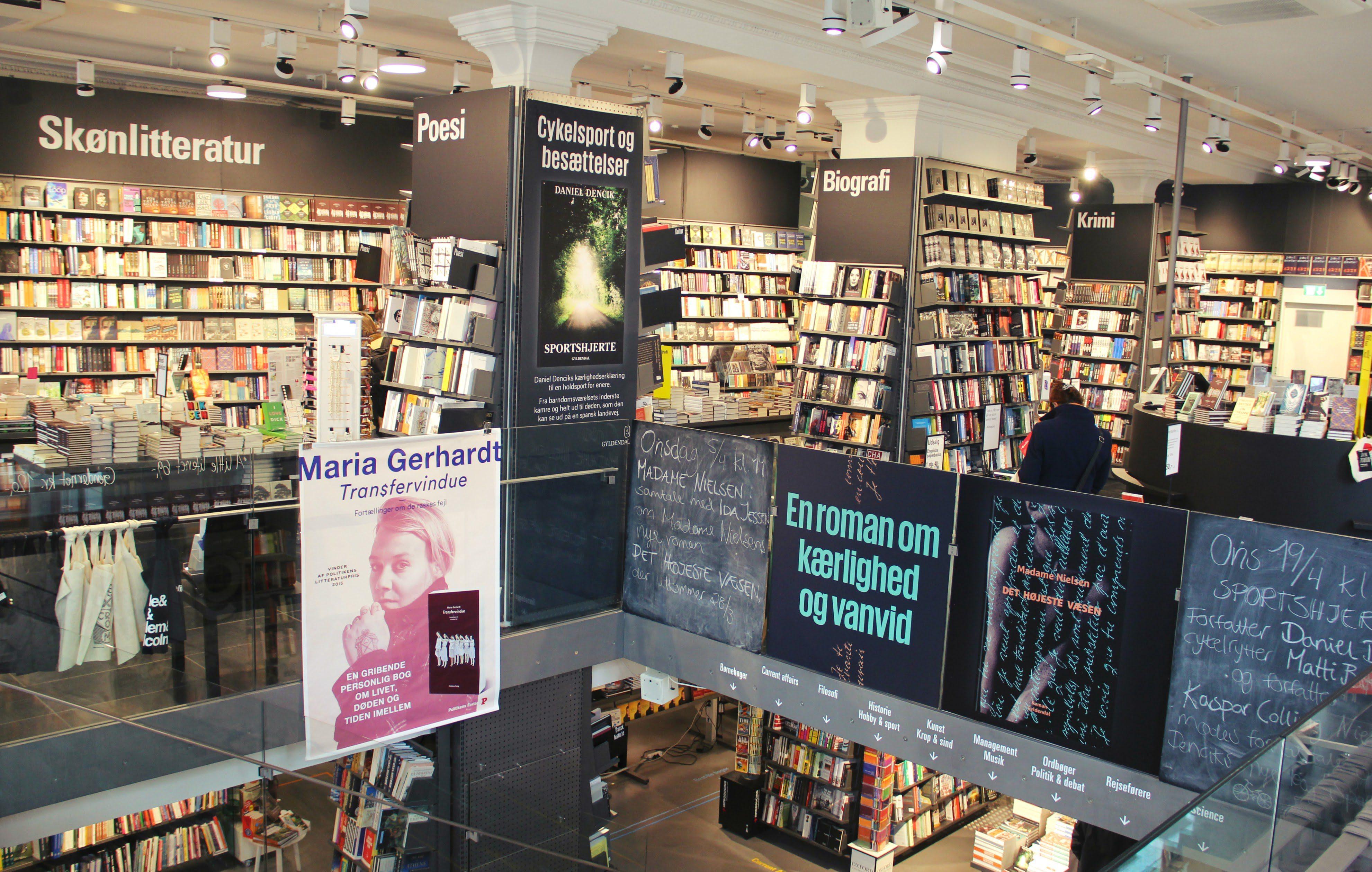 politikens boghandel plus