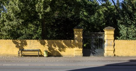 Den gule mur