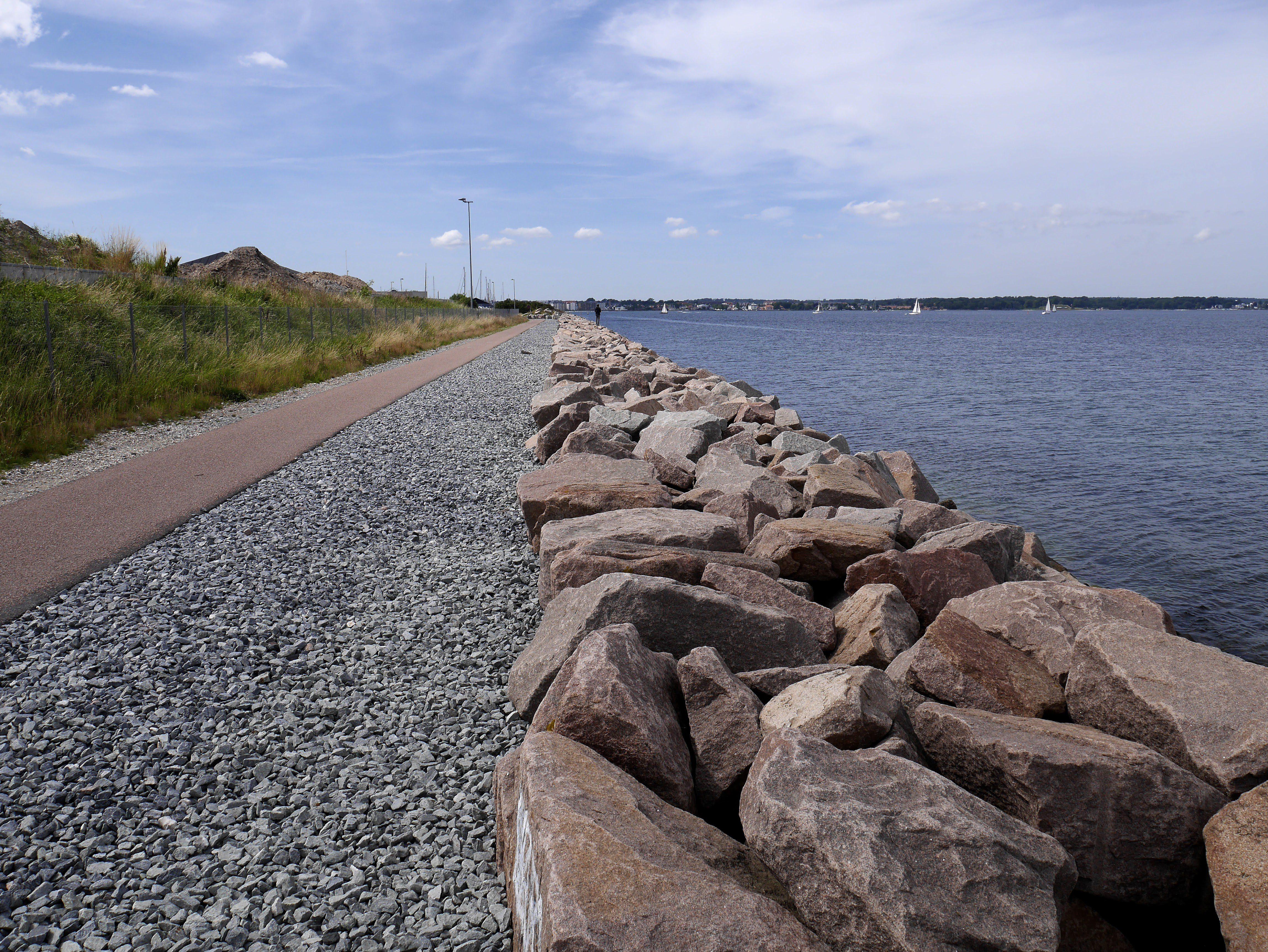 Københavnsk havnemole Foto:// Stine Merrild