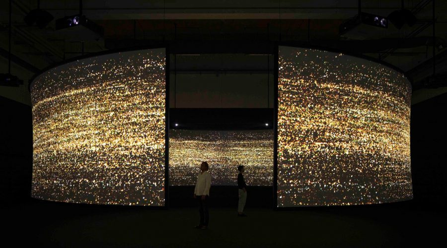 Udstilling og bobler på Copenhagen Contemporary