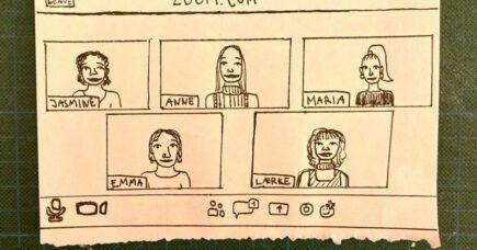 """""""Hvem sidder der bag skærmen?""""  – Musikredaktionen lærer hinanden at kende"""
