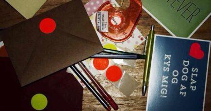 Skriv et brev gennem brevværkstedet Post A Letter.