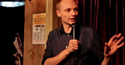 Film: Open mic på Bartof Café