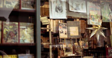 Litteraturreportage: En hyldest til Københavns antikvariater