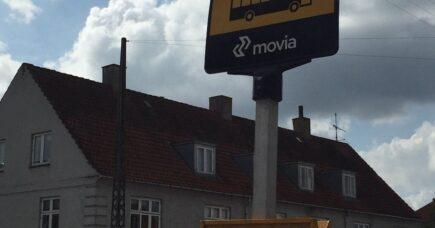 Busstoppestedet i Brønshøj