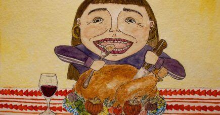 Thanksgiving er kommet til byen