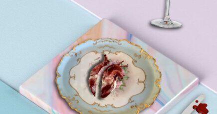 Når kærligheden forsvinder, forsvinder madminderne så også?