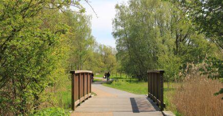 Cykelstien gennem Amager Fælled