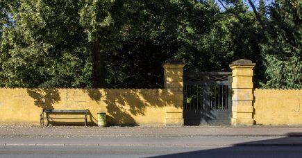 VORES STEDER: Den gule mur
