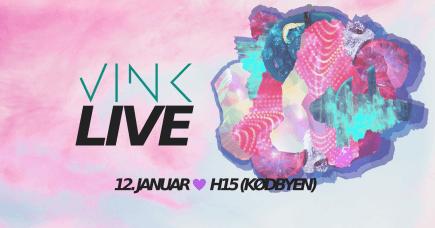 VINK LIVE: Baby Pool x MOZAíK x DJ Anders (Kune)