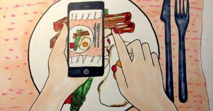 Dine madbilleder på Instagram skriver sig ind i kunsthistorien